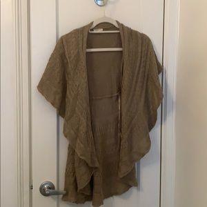 Cozy cardigan/vest